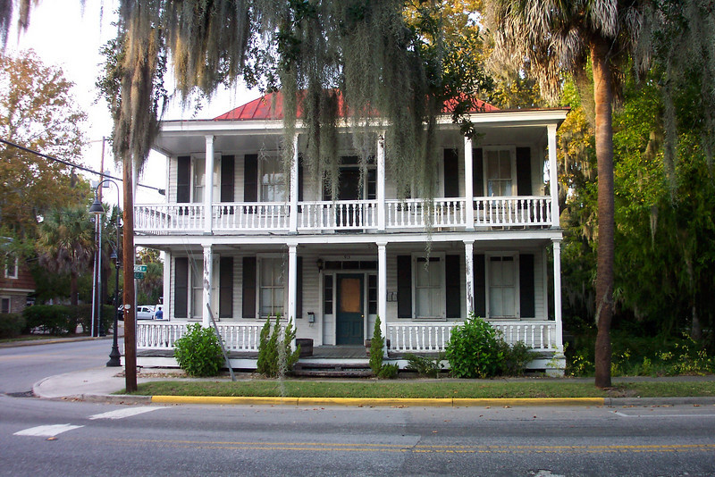 One of the houses in Beaufort