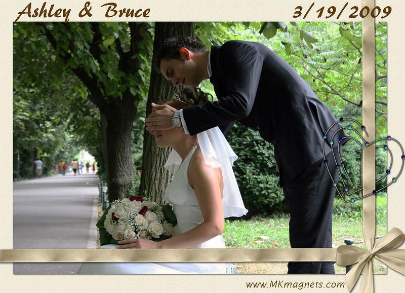 wedding magnet frame - romantic day.jpg