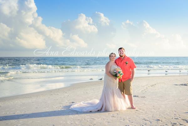 Mr. & Mrs. Brock  |  {Originally planned for Mexico Beach} Gulf Shores, Alabama