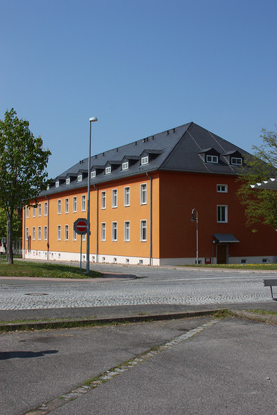 Used to live in this barracks too.  Was on the top floor with the really small windows on the other side of the building.