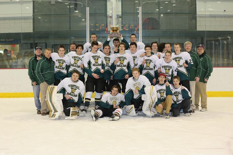 2012 - 2013 Broome Co HS Hockey Association