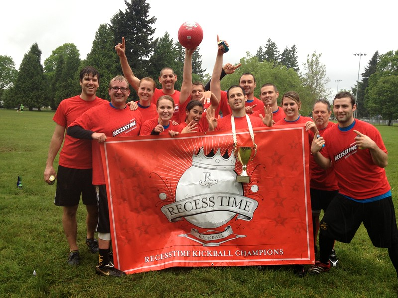 Recesstime Portland Kickball Dodgeball Bowling Ping Pong Mushball - 498