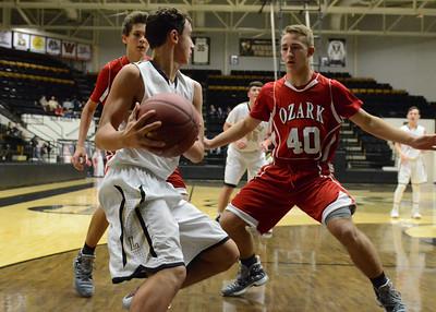 Basketball - LHS Freshmen 2016-17 - Ozark