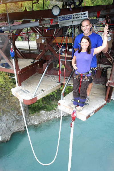 Before the bungee