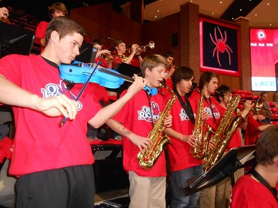 Pep Band at UR