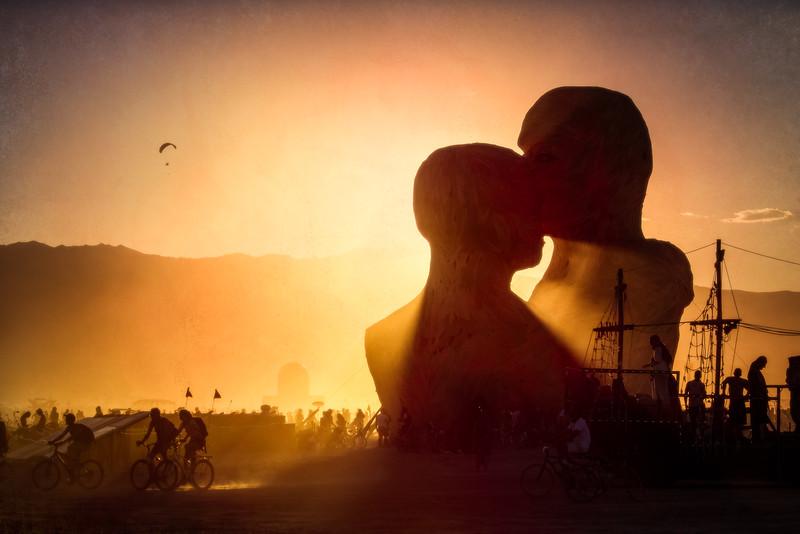 A Dusty Embrace