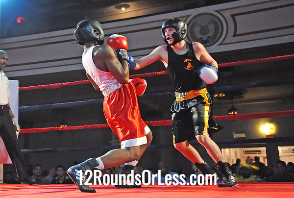 Bout # 5 Adam Figliuzzi(West Side BC-Bay Village, OH)-vs-Omar Kirk(Cleveland BC-Cleve, OH) 152 Pounds
