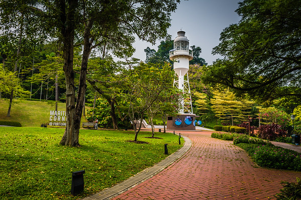 Fort Canning Park - Singapore