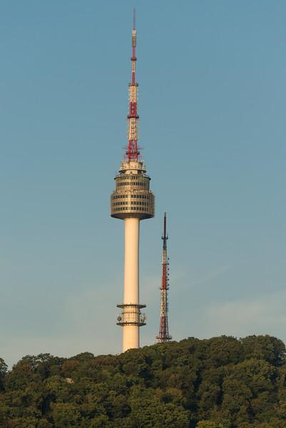 N Seoul Tower, Namsan Park, Namsan Mountain, Seoul, South Korea