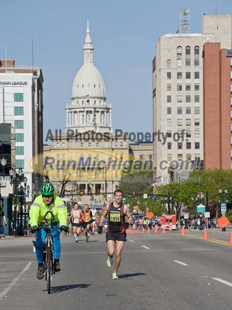 Half Start and Finish - 2012 Lansing Marathon