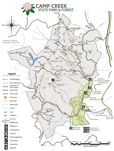 Camp Creek State Park & Forest