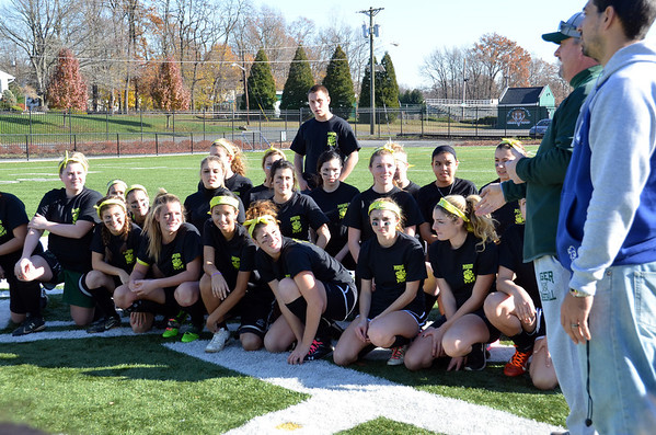 SPHS POWDERPUFF FOOTBALL MATCH & BONFIRE NOV. 21, 2012