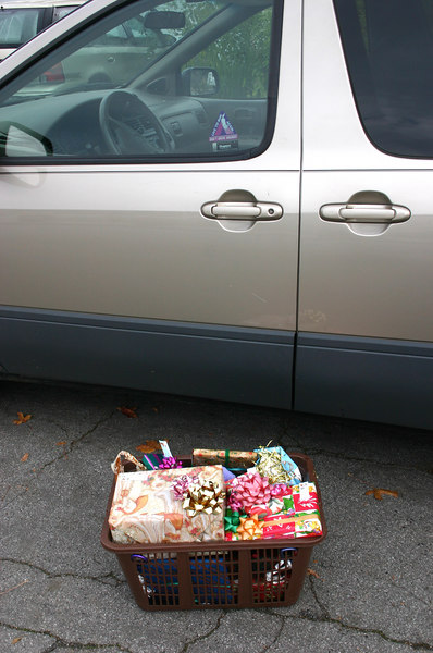 gifts and ellen's car