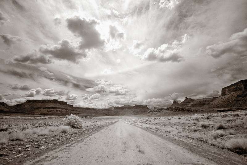 Castle Valley, near Moab Utah, Infrared
