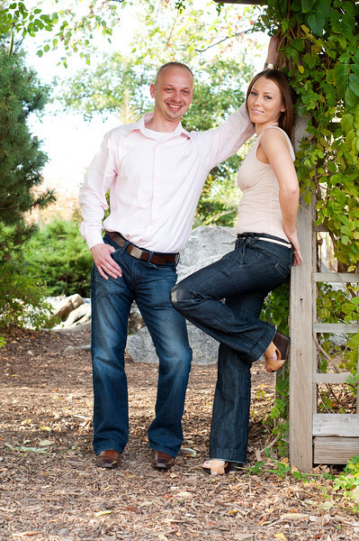 Basia and Bogdan's engagement session