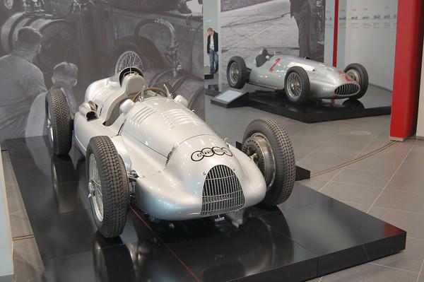 Audi Museum - Silberpfeile - 2010