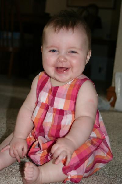 Isabelle, 9 months old