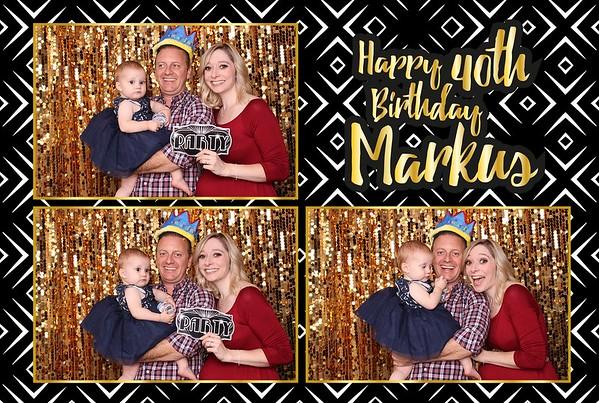 Happy 40th Marcus!