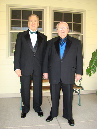 FRED & I READY FOR 2012 ACADEMY AWARDS