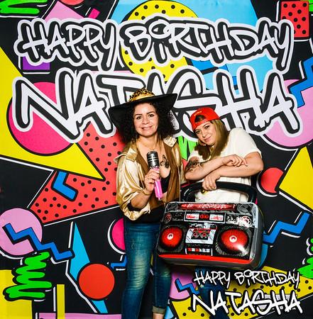 Natasha's 90's Street Glam Birthday