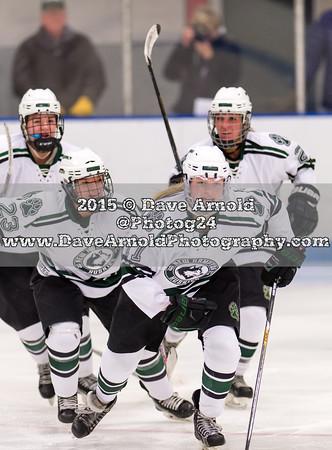 12/2/2015 - Girls Varsity Hockey - New Hampton vs Nobles