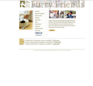 Furry Friends Pet Assisted Therapy