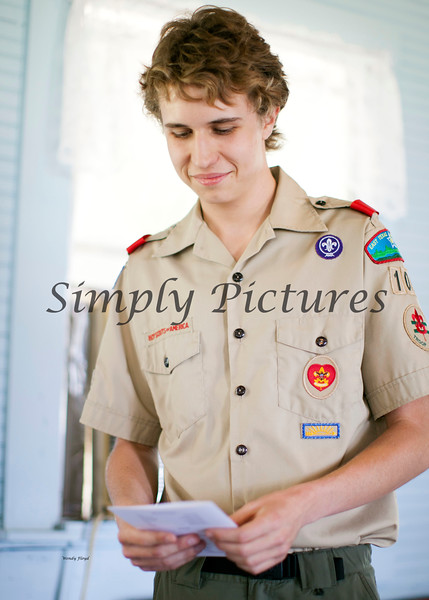 Eagle Scout Ceremony for Weston021