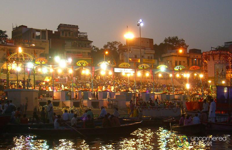 Evening Ganga Aarti Ceremony - Varanasi, India