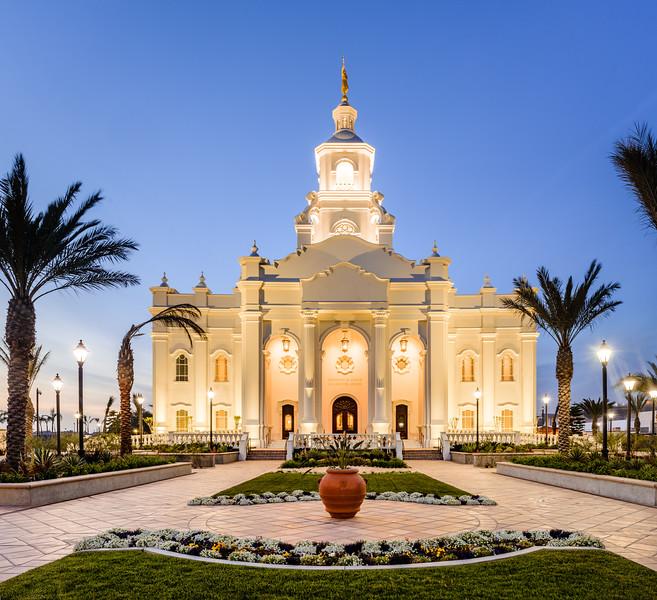 Tijuana Temple Twilight