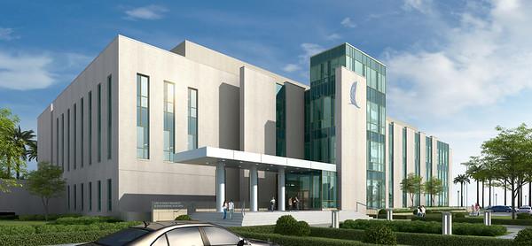 Life Sciences Building - Render