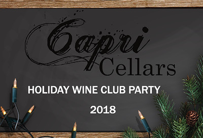 Capri Cellars 2018 Wine Party