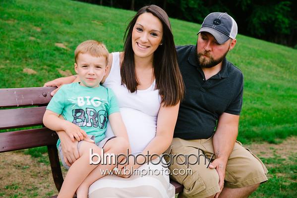 Becky, Ross & Ben -  Maternity 2015