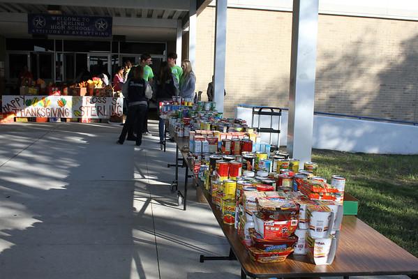 Thanksgiving Food Drive, 11/16/2012