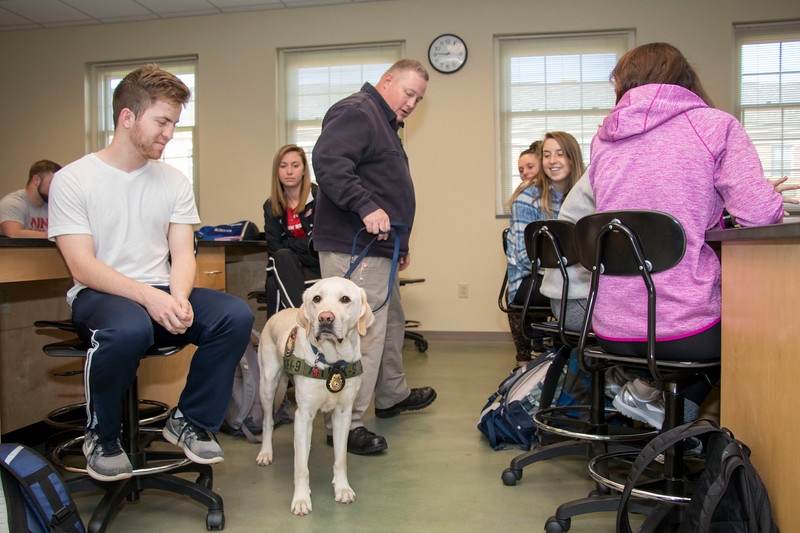 ATF and Camden the Wonder Dog Visit March 2018