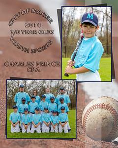 7-8 yr old Baseball