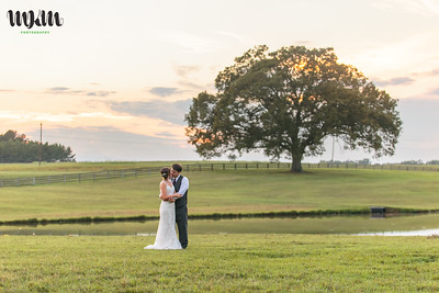 Lindsay & Christian's Casual Outdoor Wedding at Mountain View Farm