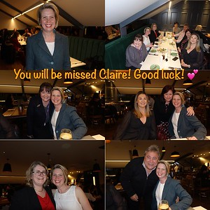 Claire Veale's Leaving Do 03/19