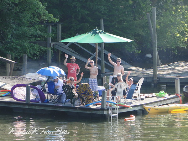 July 4th 2010 Lake Hickory Dock