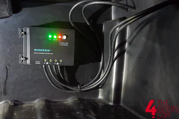 wanderer 40 amp solar controller for renology solar panels