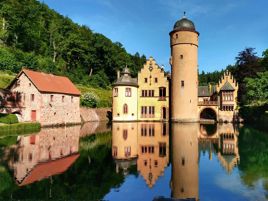 Mespelbrunn Castle in Germany