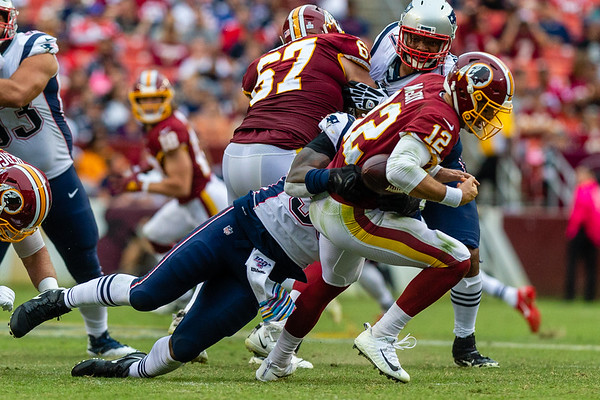 Washington Redskins vs. New England Patriots