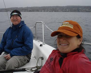 2007.10.21 Lake Washington sailing