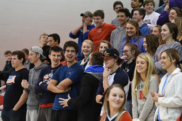 Student Crowd - Gretna Basketball game