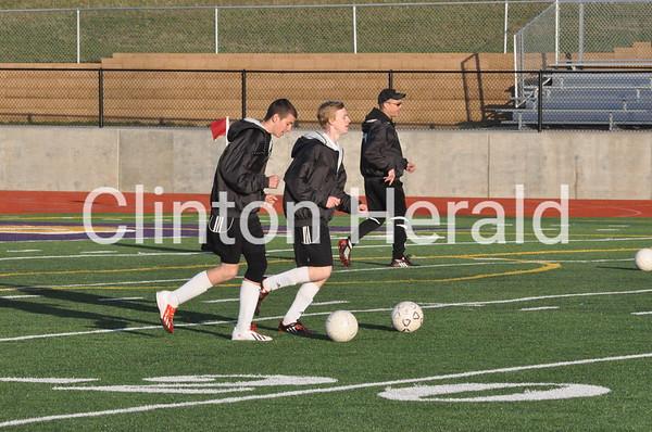North at Clinton soccer (April 25, 2013)
