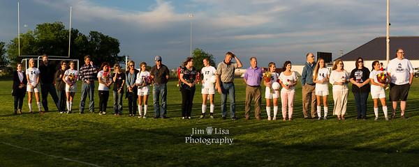 CCS Soccer Senior Night, April 24