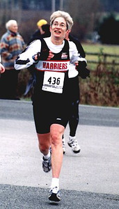 2002 Pioneer 8K - Hillerie Smith is happy to see the finish line