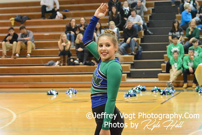 1-30-2016 Churchill HS Varsity Poms at Damascus HS, Photos by Jeffrey Vogt Photography with Kyle Hall
