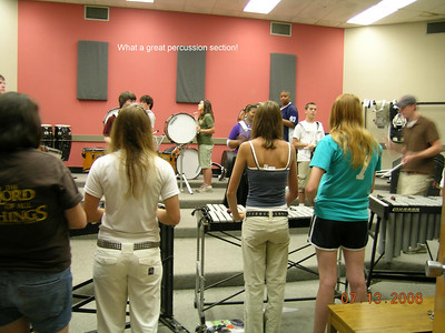 Rookie Band Camp