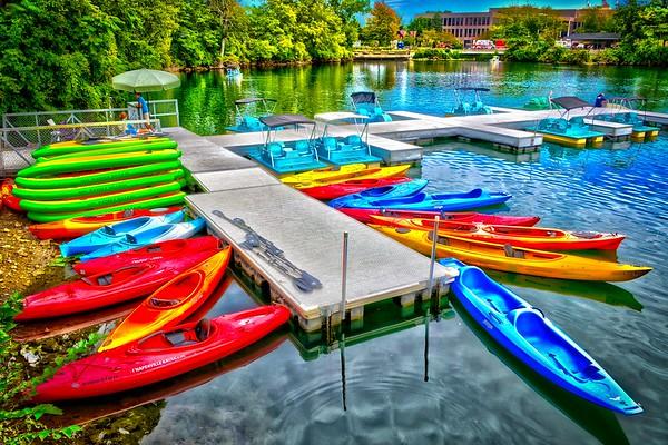 Naperville Riverwalk - Paddleboat Quarry