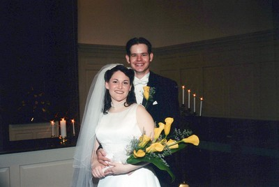 7-15-2000 Ben Lowe & Brandi Blackwood Wedding